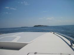 View from front of tender boat going to Cayo Levantado.jpg