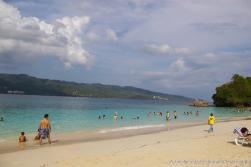 Cayo Levantado beach and vacation goers.jpg