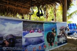 Snorkle and water sport activity rental area at Cayo Levantado.jpg